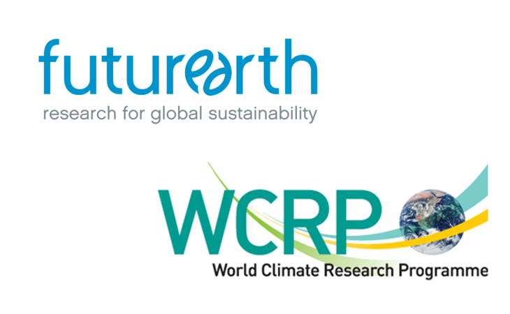 Logos World Climate Research Programm (WCRP) und Future Earth