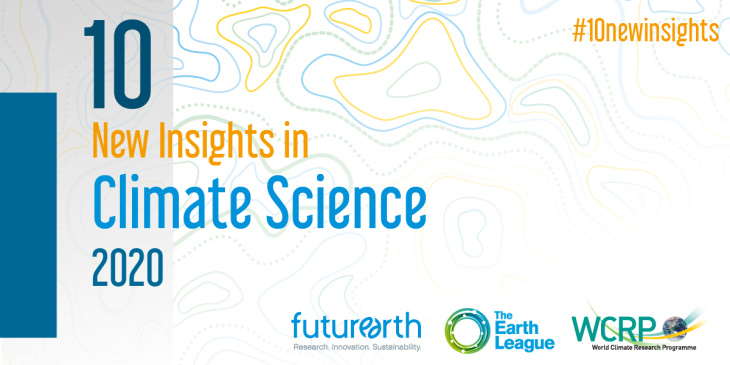 Coverfoto brochure 10 New Insights in Climate Science 2020
